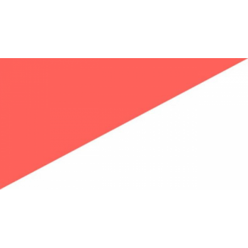 Teip, reflekteeruv (tagasipeegelduv), punane/valge, paremsuunaline, 50mm/10m