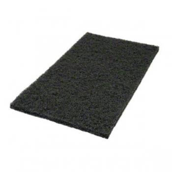 """Hõõruk põrandahooldusmasinale, must (agressiivne), kandiline, 14""""x24"""" (35x60cm)"""