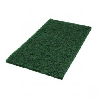"""Hõõruk põrandahooldusmasinale, roheline (sügavpesu), kandiline, 14""""x28"""" (35x70cm)"""