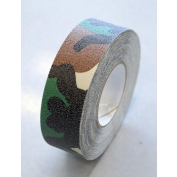 Teip Safety-Grip Standard Camouflage, abrasiivne, kaitsevärvides, 50mm/18,3m