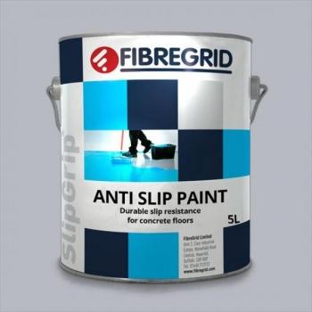 SlipGrip Anti Slip Paint, libisemisvastane värv, helehall, 5L