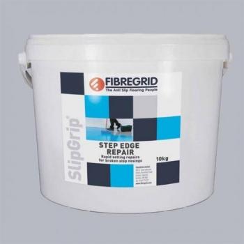 SlipGrip Step Edge Repair, betooni parandussegu, kiirkõvenev, mittevalguv, helehall, 10kg
