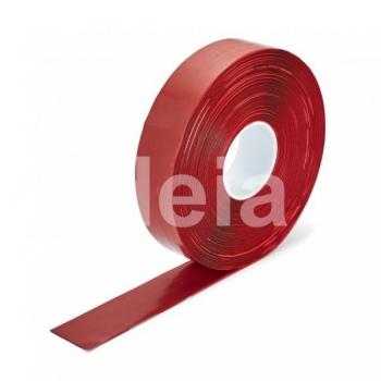 Teip Permastripe Smooth, Punane, sile faktuur, 50mm/30m