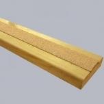 DeckGrip libisemiskindel riba, peeneteraline, helepruun, 50x1200mm