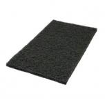 """Hõõruk põrandahooldusmasinale, must (agressiivne), kandiline, 14""""x28"""" (35x70cm)"""