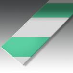 Teip PermaRoute Roheline/Valge, krobe faktuur, 50mm/30m